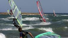 W Grecji windsurfingowy raj