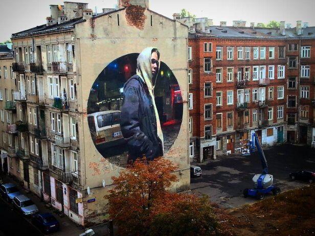 Nowy mural na Pradze Bartosz Andrejuk