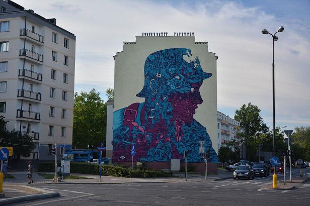 Nowy Mural na Płockiej na Woli UD Wola