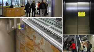 Popsute windy i schody, niewidoczne oznakowanie. Utrudnienia na II linii