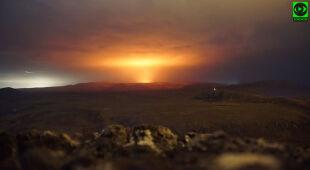 Rozmowa z Reporterem 24 o erupcji wulkanu na Islandii