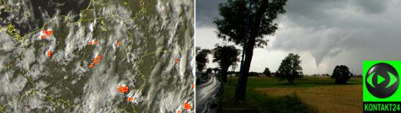 Alert pogodowy: wieczorne burze nad Polską