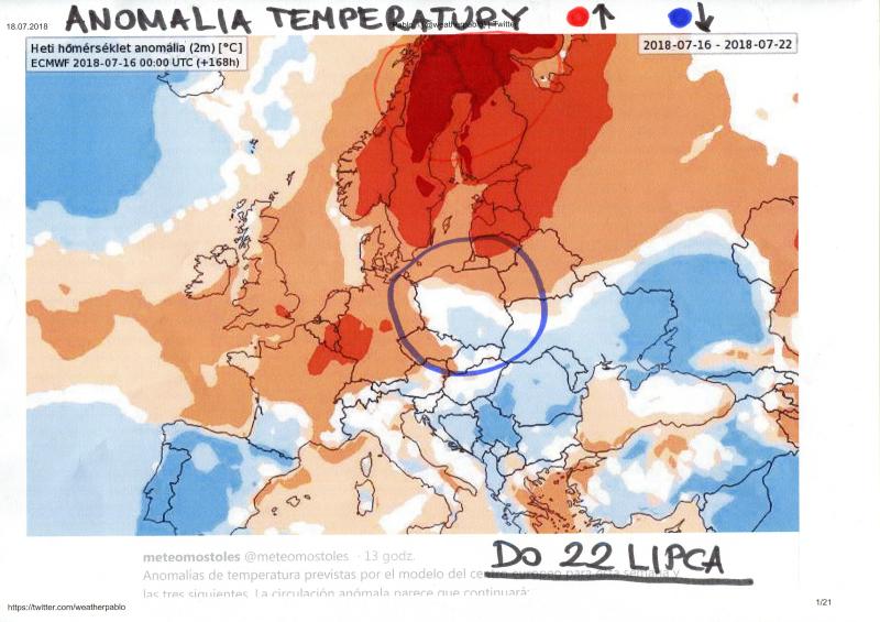 Wasilewski o anomalii temperatury
