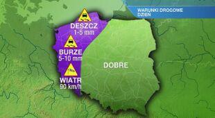 Warunki drogowe w piątek 24.07