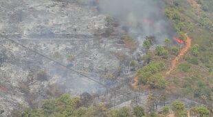 Ogień na Gran Canarii