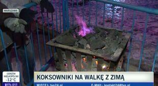 Warszawskie koksowniki (TVN24)